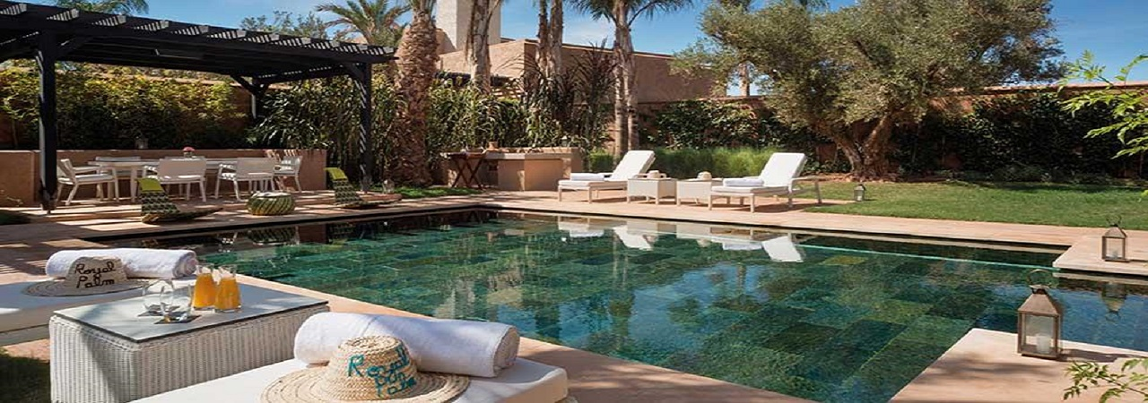 Fairmont Royal Palm***** - Luxus Urlaub Marrakesch - Marokko