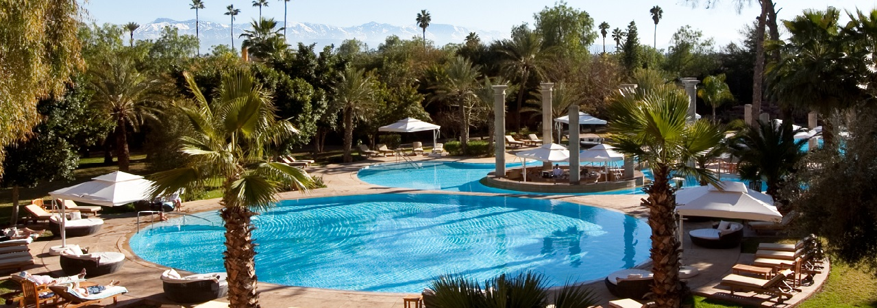 ES Saadi Gardens Hotel***** - Marokko