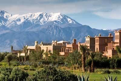 Golfreise Marrakesch - Riad WOW*****Marokko Golfreisen und Golfurlaub