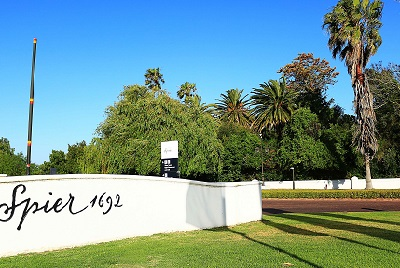 The Spier Hotel 1692****(*)