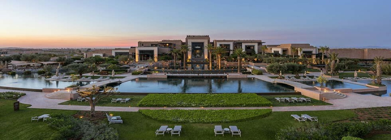 Fairmont Royal Palm***** - Luxus Urlaub Marrakesch