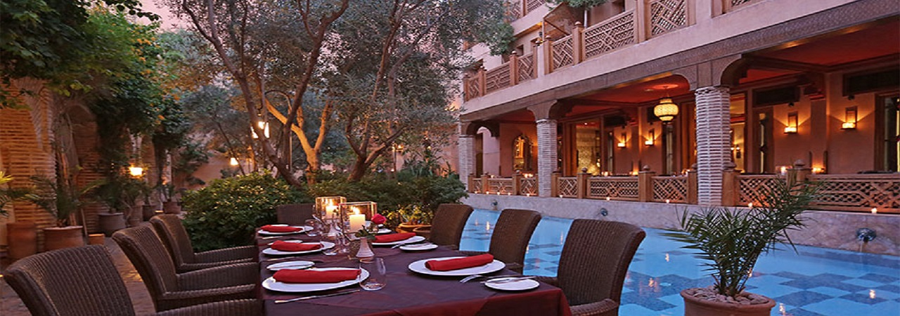 First Class Golfurlaub - Riad La Maison Arabe***** - Marokko