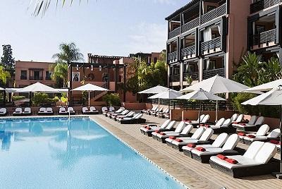 Golfreise Marrakesch - Le Naoura Barriere Hotel & Ryads*****Marokko Golfreisen und Golfurlaub