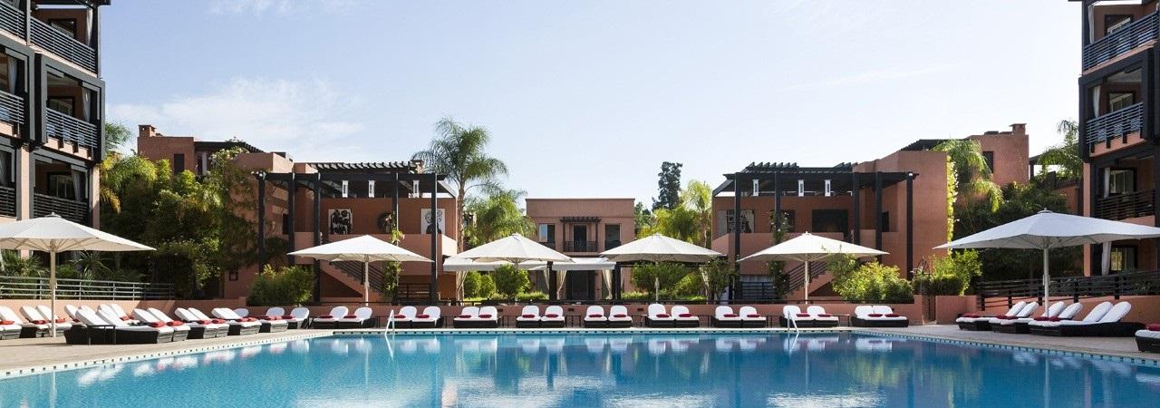 Golfreise Marrakesch - Le Naoura Barriere Hotel & Ryads***** - Marokko